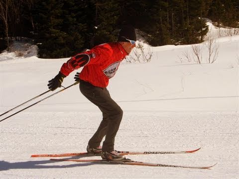 Improve your 1 skate or V 2 skate in Cross Country Skiing