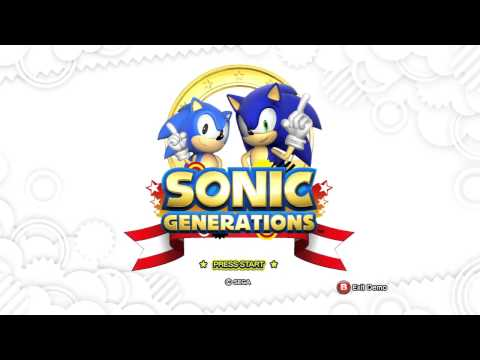 Sonic Generations Demo #2 (360) - Title Screen