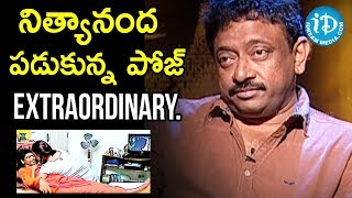 Director Ram Gopal Varma About Nithyananda Swamy | Ramuism 2nd Dose - IDREAMMOVIES
