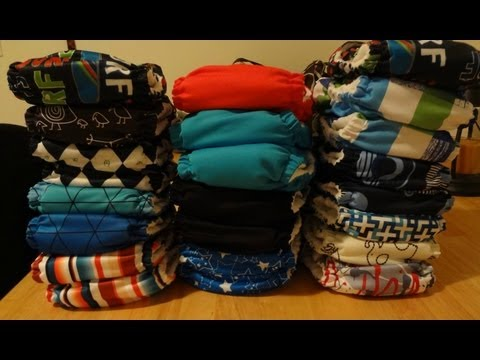 OUR CLOTH DIAPER STASH FT. SUNBABY & KERR BEAR KIDS!