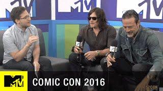 Norman Reedus & Jeffrey Dean Morgan Have Comic Con Traditions | Comic Con 2016 | MTV - MTV