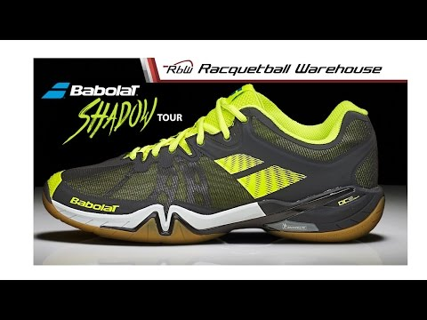 Babolat Shadow Tour Racquetball Shoes: Exclusively at Racquetball Warehouse
