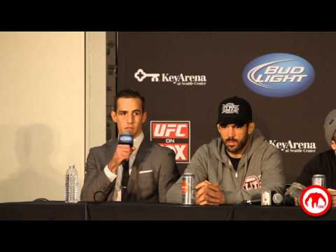 Hear what Rory MacDonald had to say at the UFC on Fox Post Fight Press Conference