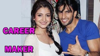 Ranveer Singh calls Anushka Sharma his Career Maker! | Bollywood News