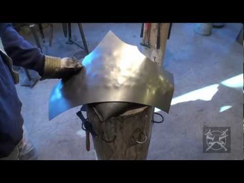 Fabrication d'armure médiévale Making of medieval armor #16