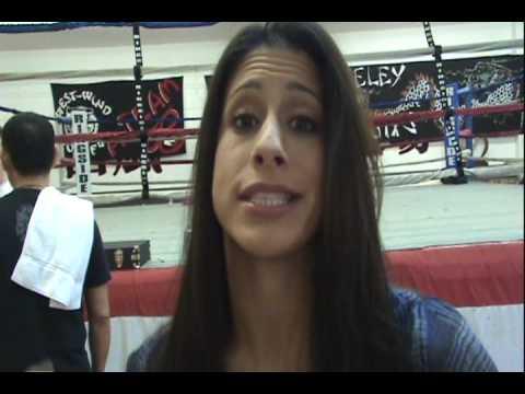 Muay Thai Fighter Jenna Castillo Talks About Ana Julaton's Improvments