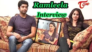 Chit Chat with Havish & Nanditha | Ramleela Interview | Part 02 - TELUGUONE