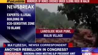 Sudden landslide in Pune claims 15, death toll could rise - NEWSXLIVE