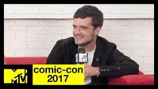 "Josh Hutcherson, Eliza Coupe & Derek Wilson Talks ""Future Man"" | Comic-Con 2017 | MTV - MTV"