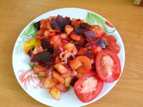 Блюда из овощей в микроволновке рецепты