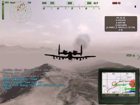 Arma 2 Operation Arrowhead A-10 Warthog Runs