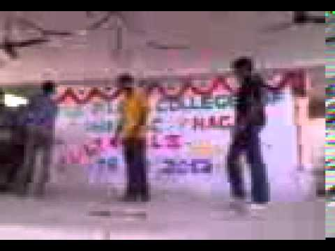 Ayyappan and his friends dancing machi open the bottle song in CULTURAL -  - bruceleeayyappan