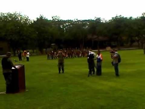 Ceremonia de reconocimiento al Grupo de Alto Impacto en la X Región Militar