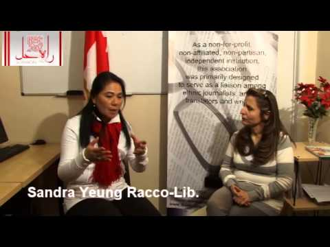 Sandra Racoo interview with  Massi Farahani- rahehal TV