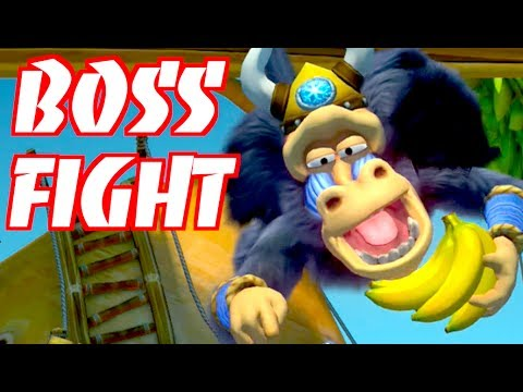 BRIGHT SAVANNAH BOSS BATTLE!!! Donkey Kong Country: Tropical Freeze - 3-Boss Triple Trouble