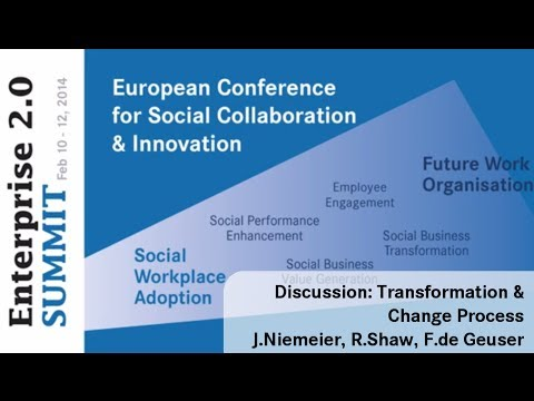 #e20s 2014 | Discussion: Leading the Transformation & Change Process
