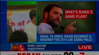 3 day AICC plenary session in Delhi; Rahul Gandhi to make welcome remarks today - NEWSXLIVE