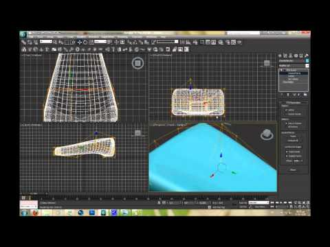 3D Modeling using 3ds max - Lesson 9 Modifiers FFD - Morpher - Optimize - Mesh Smooth Part 1