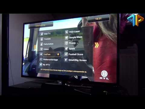 Ferguson Ariva 203 Android powered HD Sat-Receiver im Test