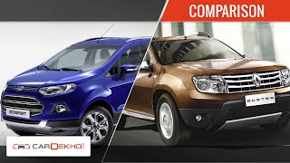 Renault Duster Vs Ford Ecosport  | Comparison Review | CarDekho.com