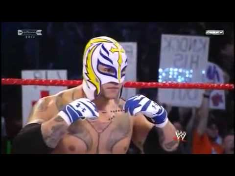 WWE Royal Rumble 2010 Rey Mysterio Vs Undertaker World Heavyweight Championship PART1/3