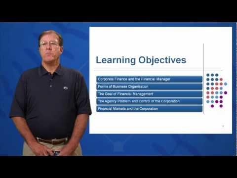 corporate finance objectives