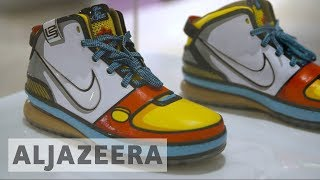 Australian art gallery holds sneaker exhibition - ALJAZEERAENGLISH