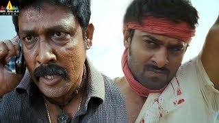 Prabhas Powerful Fight Scene | Mirchi | Latest Telugu Movie Scenes | Sri Balaji Video - SRIBALAJIMOVIES