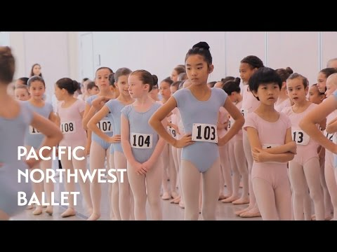 Young Dancers Audition for Nutcracker