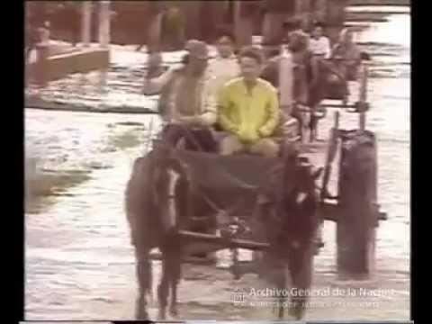 Inundaciones en Chaco, Formosa, Santa Fe y Santiago del Estero. Entrega de cajas PAN, 1986. Siempre existieron, lamentablemente.
