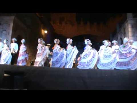 Agrupacion Panama Folklore en  Cáceres -- España 2013