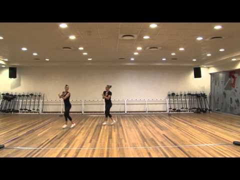 SAGF Aerobic Gymnastics Level 1 Pair Routine