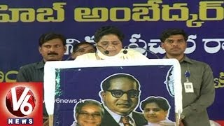 BSP Chief Mayawati says Telangana Credit is Ours - Hyderabad - V6NEWSTELUGU