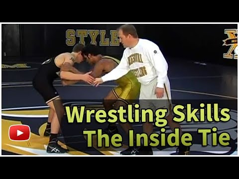 Wrestling Skills and Drills - How to Do an Inside Tie - Coach Brian Smith