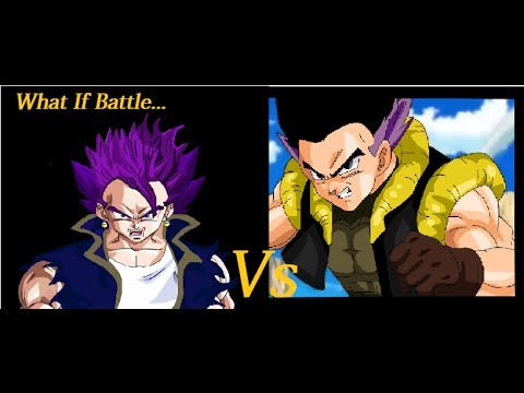 What If Battle Vegetunks Vs Gotenks (Adult Version)