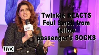 Twinkle complains on foul smell from fellow passenger - BOLLYWOODCOUNTRY