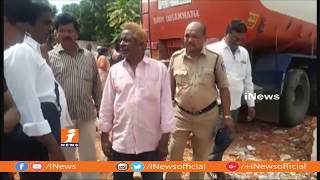 Lorry Rams Into Houses In Hyderabad | One Women Wounded | iNews - INEWS