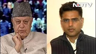 #Familygoals: When Sachin Pilot And Farooq Abdullah Met On NDTV Show - NDTV