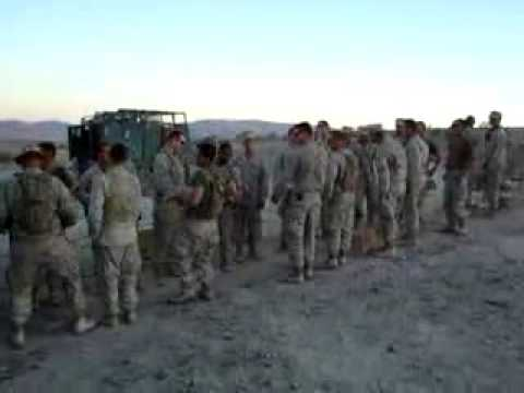 US Marines sing: You Build Me UP
