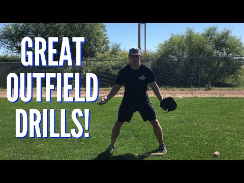 3 GREAT Baseball Outfield Drills for Youth Players