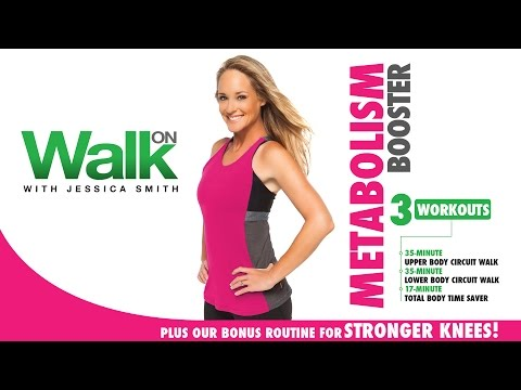 Walk On: Metabolism Booster with Jessica Smith - Walking, Strength Training + Strong Knees!