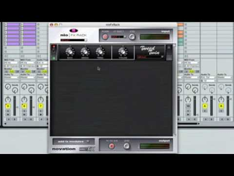Novation NIO FX Rack - Applying Effects - PRESS PLAY