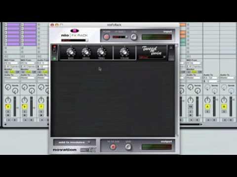 Novation NIO FX Rack - Applying Effects - PRESS PLAY