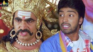 Yamudiki Mogudu Movie Scenes   Naresh fight with Sayaji  Shinde   Latest Telugu Movie Scenes - SRIBALAJIMOVIES