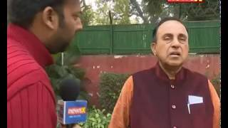 Subramanian Swamy speaks to NewsX after SC verdict on Cauvery & setback for TN government - NEWSXLIVE