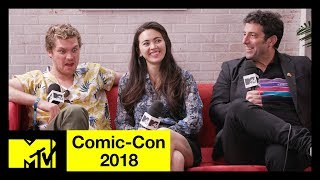 Marvel's 'Iron Fist' Cast Talk Season 2, New Characters & More! | Comic-Con 2018 | MTV - MTV