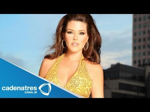 Alicia Machado se niega hablar de su doble mastectomía / Alicia Machado's double mastectomy
