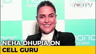 Neha Dhupia on Cell Guru - NDTV