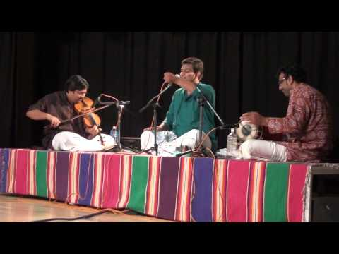 Vid.Vinay Sharva concert at Unnati Centre May 2013, Karpagame, Madhyamavati, Papanasam Sivan