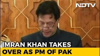 As Imran Khan Takes Oath, A New Innings Begins For Pak - NDTV
